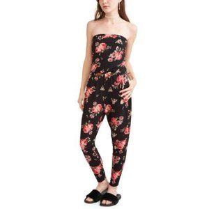 ISO Almost Famous Floral Jumpsuit